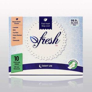 Afresh Pads Night use (10 pcs)